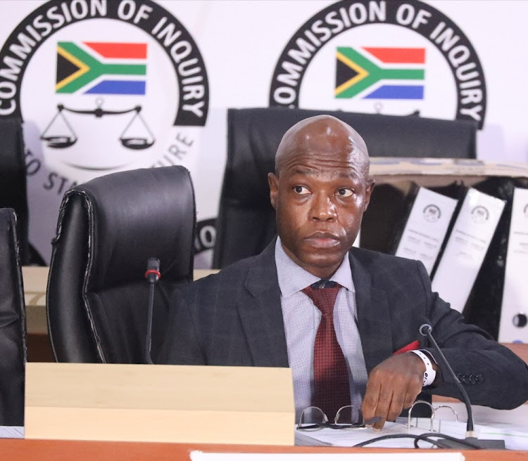 Matshela Koko testified at the Zondo commission recently. His story does not add up, according to the chairperson judge Raymond Zondo. File photo.