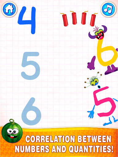 Learning numbers for kids! Writing Counting Games! 1.0.2.9 screenshots 13
