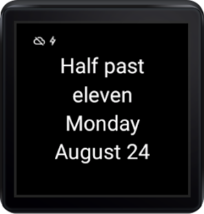 English Clock for Wear- screenshot thumbnail