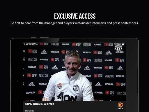 MUTV u2013 Manchester United TV 2.9.0 screenshots 10