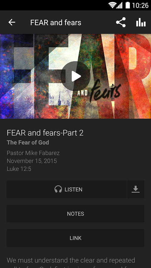 Focal Point Radio Ministries- screenshot