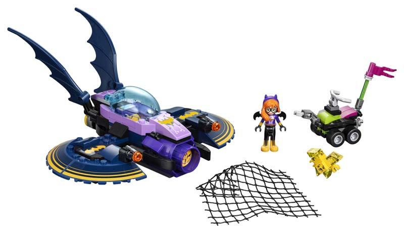 Contenido de Lego® 41230 Persecución en el Batjet de Batgirl™