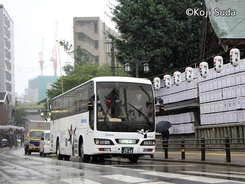西鉄 4012 櫛田神社付近走行中_01