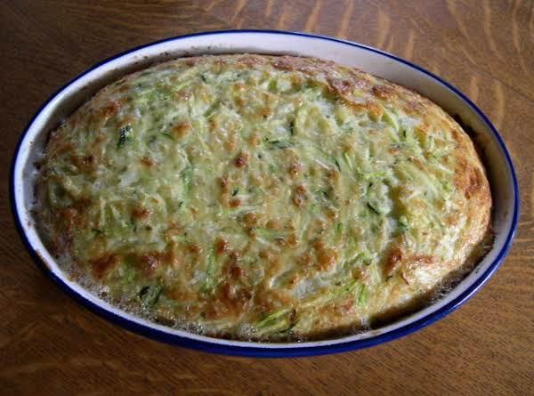 Baked Zucchini Puff Casserole