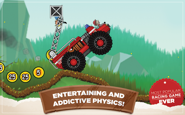 Hill Climb Racing Screenshot Image