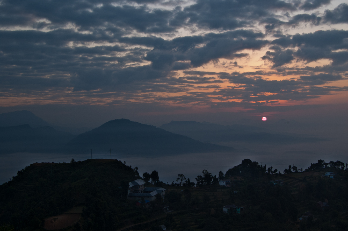 Photo: Sunrise in Sarangkot  For #SkySunday curated by +Simone Linke .