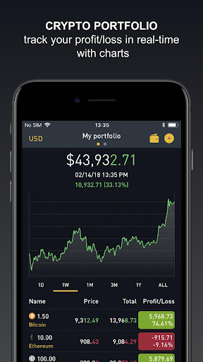 Crypto Tracker by BitScreener  screenshots 1
