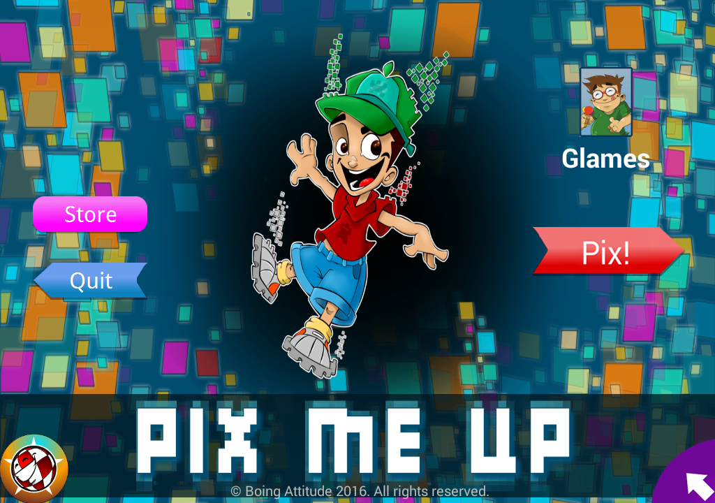 PixMeUp- screenshot