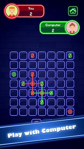 SOS Glow: Offline Multiplayer Board screenshot 2
