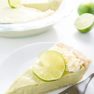 Easy No-Bake Key Lime Pie (Low Carb, Gluten-free).