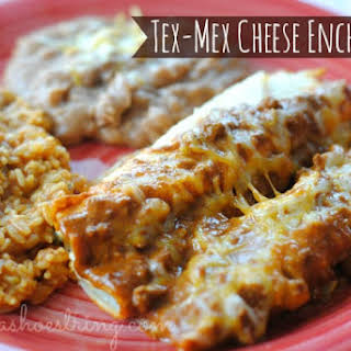 Tex-Mex Cheese Enchiladas.