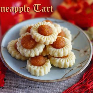Open Face Pineapple Tarts Make around 37 tarts.