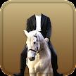 Horse With Man Photo Suit APK