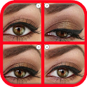 Eyes makeup step by step 2016 icon