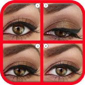 Eyes makeup step by step 2016