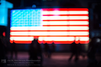 Photo: One Nation A couple weeks ago in NYC I had a great time testing out a new lens (Canon 50mm f/1.0) in Times Square. While you might think the lens is broken I actually intended for this to be out of focus testing out the resulting bokeh at f/1.0. Given the nature of events this week I thought it was a fitting image to share. Hopefully the bitterpartisanshipof the past several months blurs into oblivion.