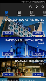Radisson Blu One Touch- screenshot thumbnail