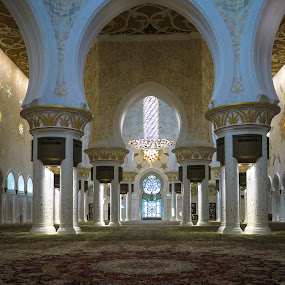 Sheikh Zayed mosque by Cristiana Chivarria - Buildings & Architecture Places of Worship ( interior, building, mosque, uae, architecture, worship, photography, design, sheikh zayed mosque )