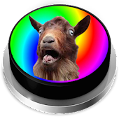 MLG Screaming Goat Button