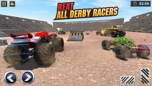 Real Monster Truck Demolition Derby Crash Stunts apkpoly screenshots 2