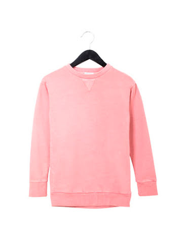 Civiliants Sweatshirt Dress Pink