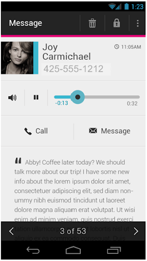 T-Mobile Visual Voicemail 5.29.3.81726 screenshots 2
