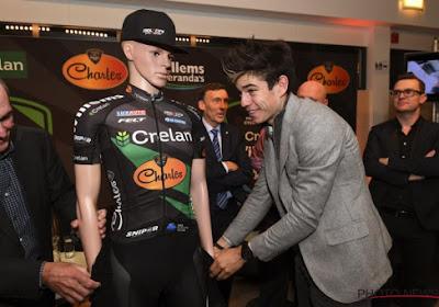 """Van Aert stelt Crelan-Charles voor: """"De Ronde en Parijs-Roubaix zijn doelen"""""""