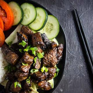 Bo Luc Lac (Vietnamese Shaking Beef).
