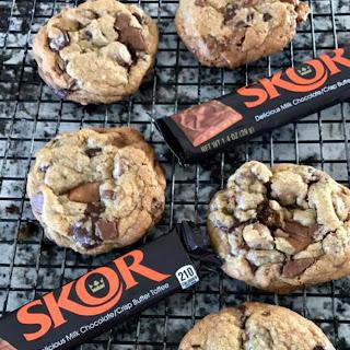 Skor Double Chocolate Chip Cookies.