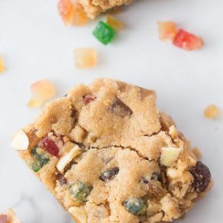 Fruitcake Bar Cookies.