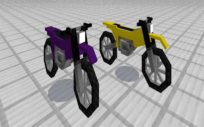 Motobike Mod for MCPE Addon APK screenshot thumbnail 3