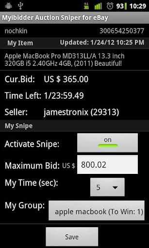 Download Myibidder Auction Sniper For Ebay Pro On Pc Mac With Appkiwi Apk Downloader
