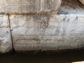 Photo: Butrint - Manumission inscriptions at the Roman theater dated after 232 BC
