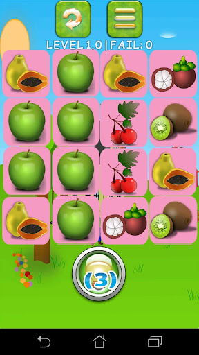 Fruit Games Free: Match games