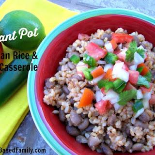Instant Pot Mexican Casserole.