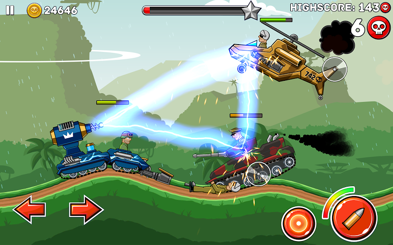 Hills of Steel Screenshot 7