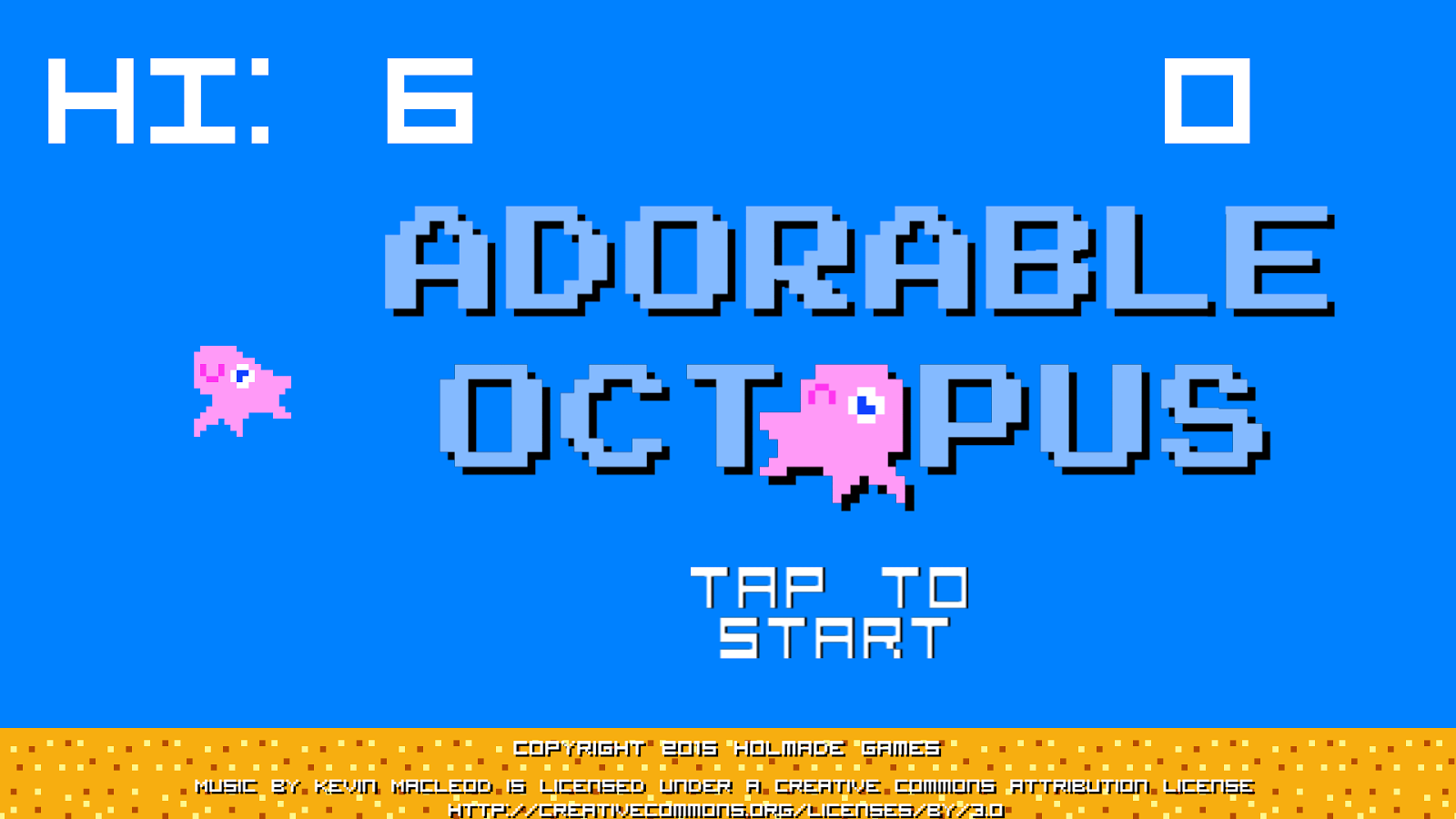 Adorable Octopus- screenshot
