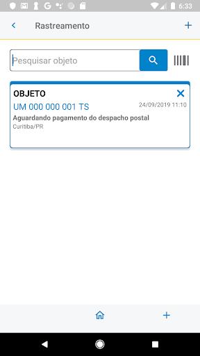 Correios screenshot 3