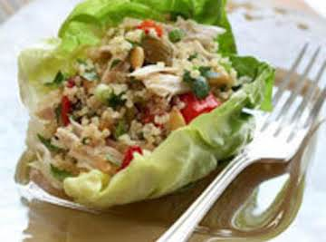 Chicken and Quinoa Salad with Roasted Chiles