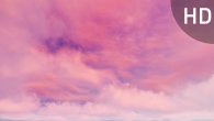 White Pink Cirrus Clouds on Violet Sky - 8