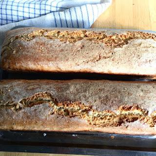 43 Homemade bread with kefir