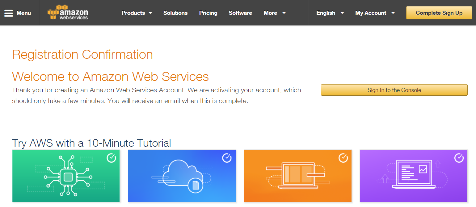 Amazon Cloud Setup : Amazon Web Services [AWS] 35