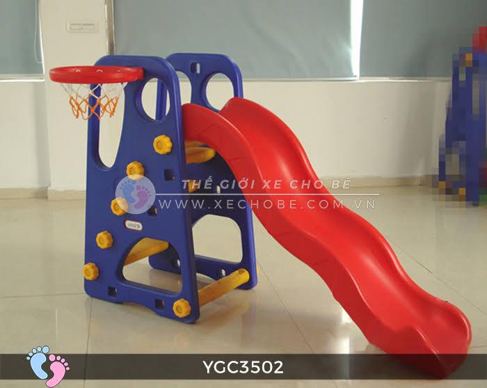 Cầu trượt bóng rổ cho bé YGC-3502 2