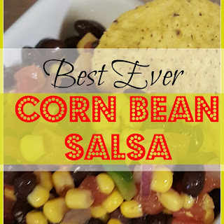 Best Ever Corn Bean Salsa