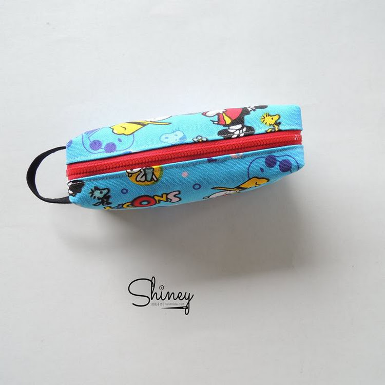 Handmade Classic Pencil Pouch [Snoopy]