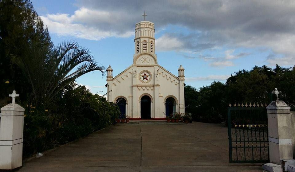 Nhà thờ công giáo tại Savannakhet .
