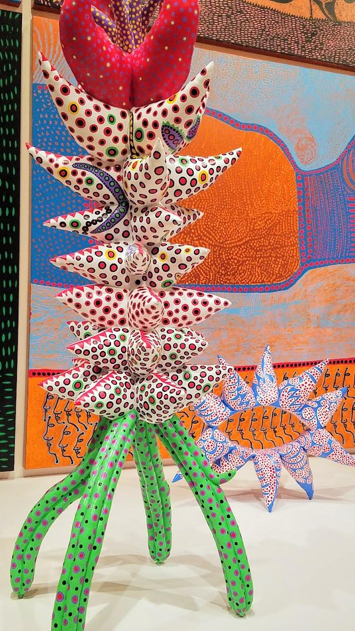 Visiting Yayoi Kusama Infinity Mirrors at Seattle Art Museum - Yayoi Kusama, My Eternal Soul