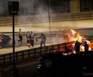 """🎥  Romain Grosjean ontmoet de mensen die hem geholpen hebben bij de crash: """"Bedankt om mijn leven te redden"""""""