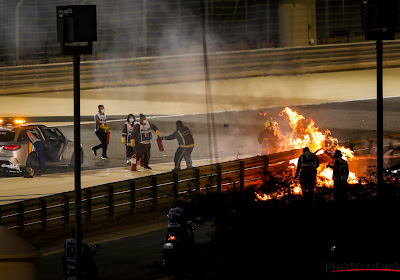 """""""Horrorcrash Romain Grosjean bewijst dat alle veiligheidsnormen werken en nodig zijn"""""""