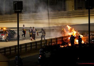 "Ruben Van Gucht krijgt crash van Grosjean cadeau: ""Misschien nog straffer dan Hamilton"""